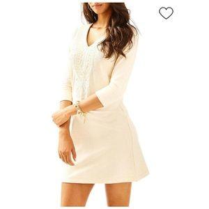 Lilly Pulitzer Clarkson cream dress